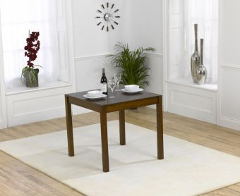 Oxford Dark Solid Oak 80cm Dining table