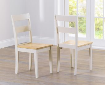 Chiltern Cream Dining Chairs (Pairs)