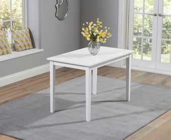 Chiltern 114cm White Dining Table