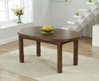 Chelsea Dark Solid Oak Extending Dining Table
