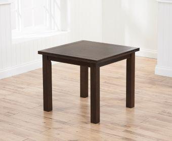 Somerset 90cm Flip Top Extensionss Dark Oak Dining Table