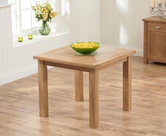 Somerset 90cm Flip Top Oak Dining Table