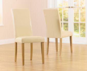 Albany Cream Chairs (Pairs)