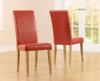 Albany Red Chairs (Pairs)