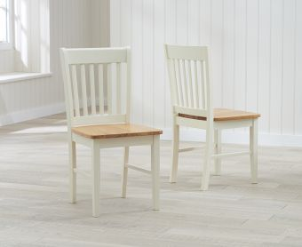 Amalfi Cream Dining Chairs (Pairs)