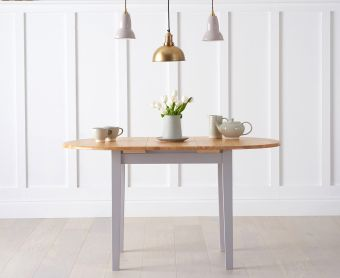 Amalfi Oak and Grey Extending Table
