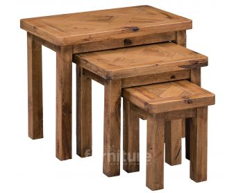 Kingsley Solid Oak Nest of Tables