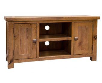 Kingsley Solid Oak 2 Door TV Cabinet