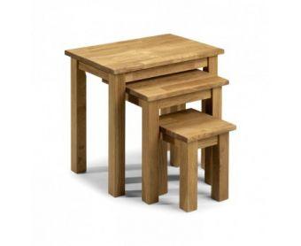 Banbury Oak Nest of Tables