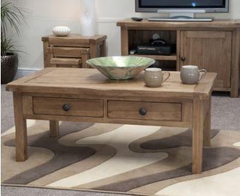 Rustique Oak Coffee Table