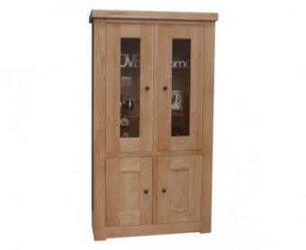 Rondeau Oak and Glass Cabinet
