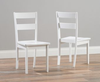 Chiltern White Dining Chairs (Pairs)
