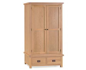 Sasha Two Door Two Drawer Wardrobe