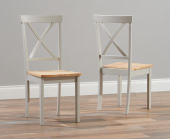 Epsom Grey Dining Chairs (Pairs)