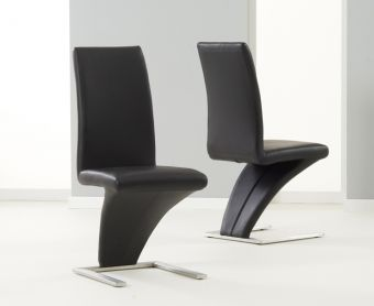 Hampstead Black Z Chairs (Pairs)