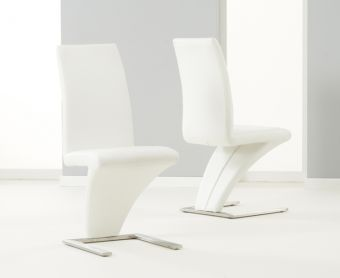 Hampstead Ivory White Z Chairs (Pairs)