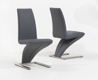 Hampstead Grey Z Chairs (Pairs)