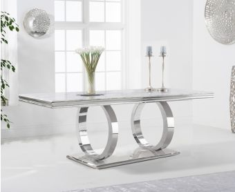 Henley 180cm Marble Dining Table