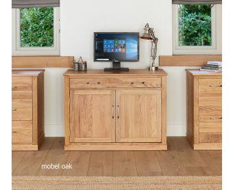 Mobel Solid Oak Hidden Home Office