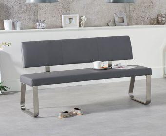 Malaga Large Grey Bench