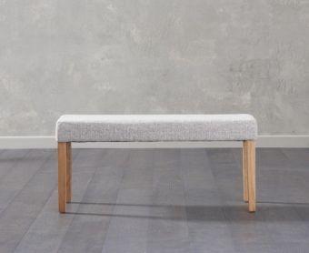 Mia Small Grey Bench