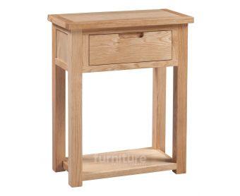Merissa Oak Small Console Table