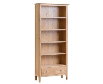 Suri Oak Large Bookcase