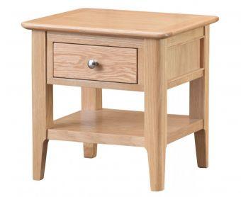 Suri Oak Lamp Table