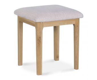Suri Oak Dressing Table Stool