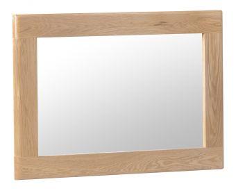 Suri Oak Small Wall Mirror