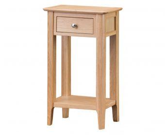 Suri Oak Telephone Table