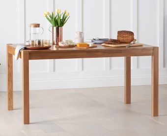 Oxford 150cm Oak Dining Table