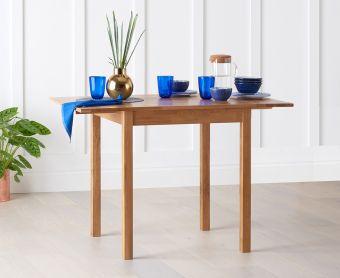 Oxford 70cm Extending Oak Dining Table