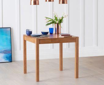 Oxford 80cm Oak Dining Table