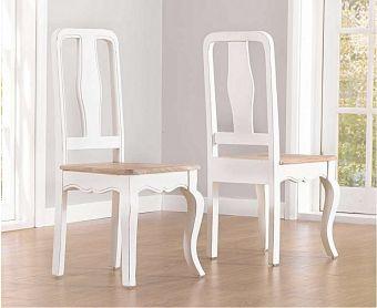 Parisian Shabby Chic Dining Chairs (Pairs)