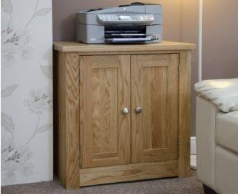 Reno Oak Printer Cabinet