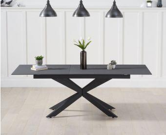 Bellagio 180cm Extending Grey Stone Dining Table