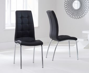 Calgary Black Chairs (Pairs)