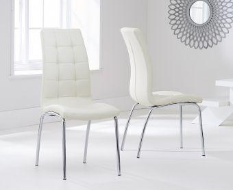 Calgary Cream Chairs (Pairs)