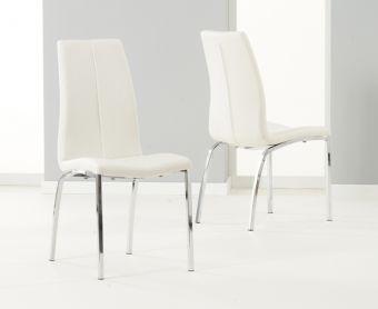 Cavello Ivory White Chairs (Pairs)