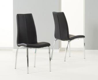 Cavello Black Chairs (Pairs)