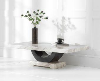 Raphael Cream Marble Coffee Table