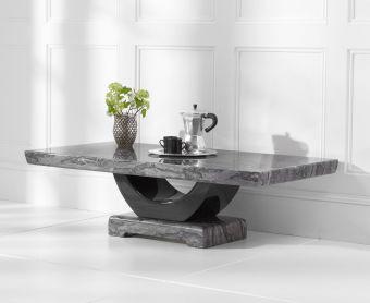Raphael Dark Grey Marble Coffee Table