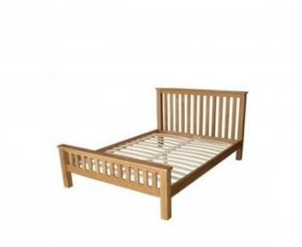 Opus Oak King Size Bed