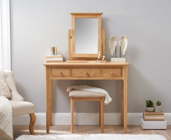 Suri Oak Dressing Table