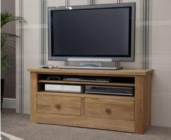 Reno 110cm Oak TV Unit