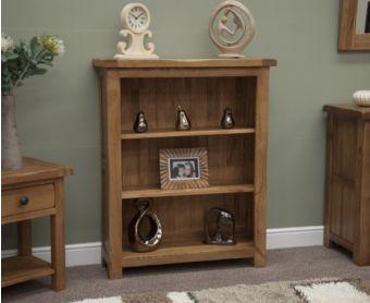 Rustique Oak Small Bookcases