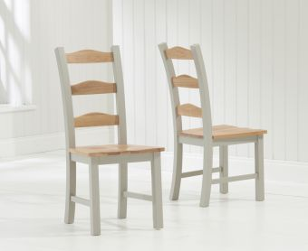 Somerset Grey Dining Chairs (Pairs)