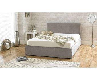 Sterling Stone Fabric Ottoman Super King Size Bed
