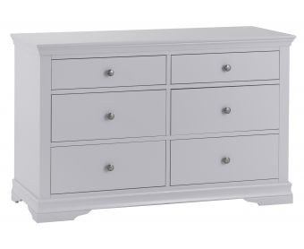 Simon Grey 6 Drawer Chest of Drawers